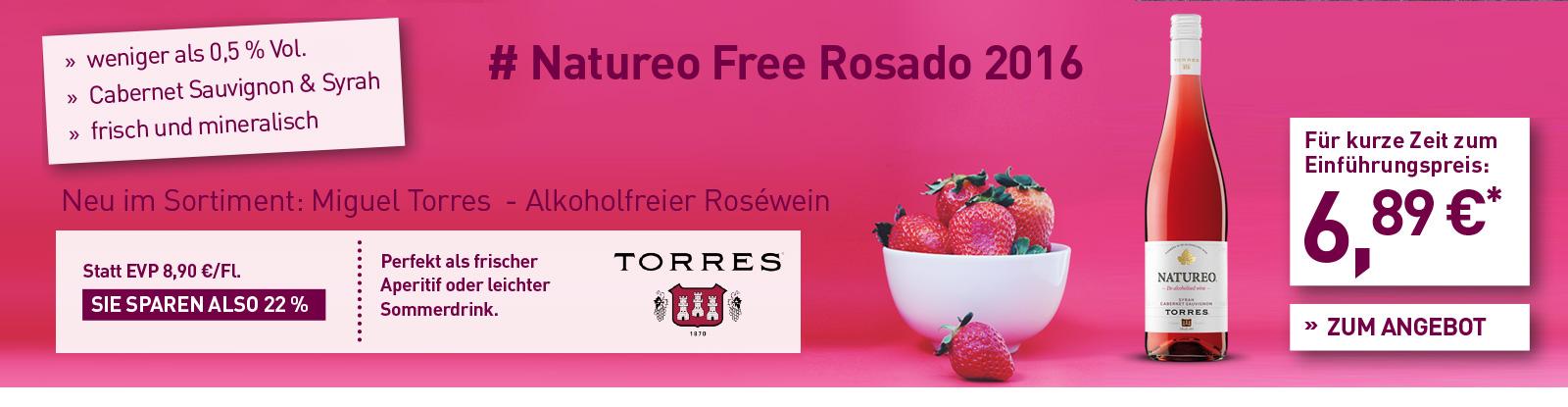 Natureo Free Rosado 2016